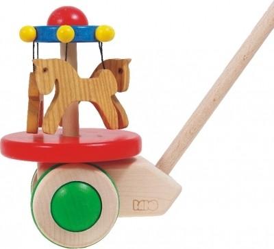 Bajo-Holzspielzeug-Pferdekarussel-01